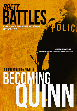 Becoming Quinn by Brett Battles